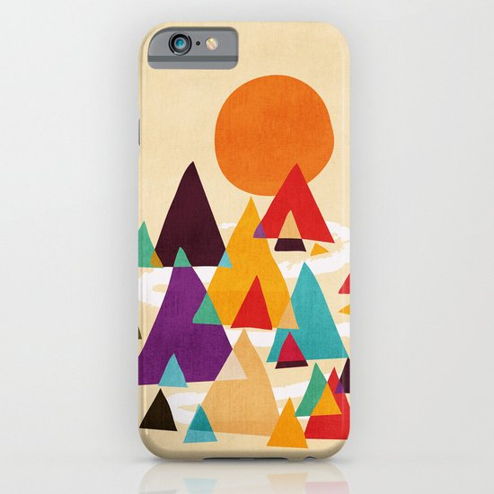 Let's visit the mountains iPhone & iPod Case