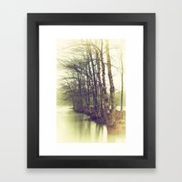 Natures Winter Slumber Framed Art Print