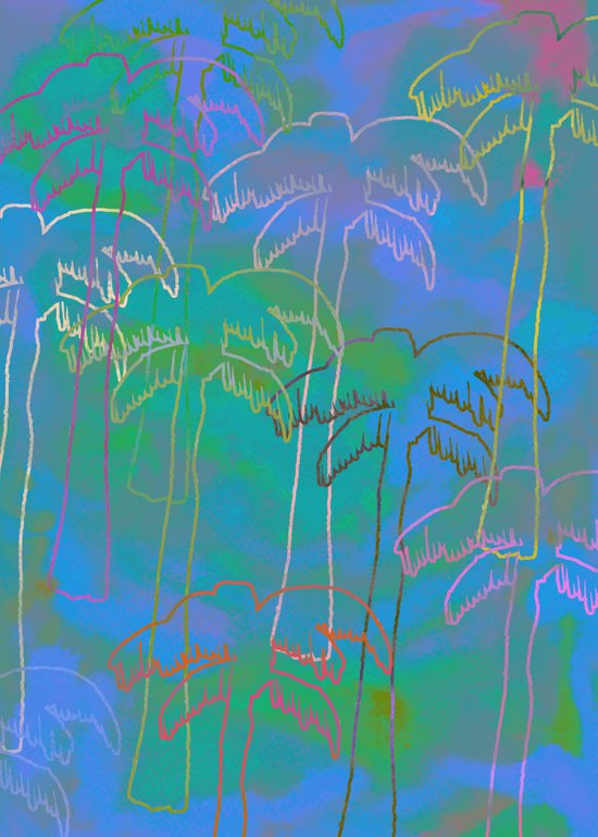 Tropical 2 Art Print