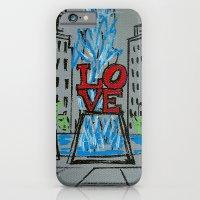 Little Love Park Sketch iPhone 6 Slim Case