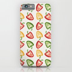 Mixed Peppers Pattern iPhone 6 Slim Case