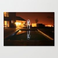Reflections. Canvas Print
