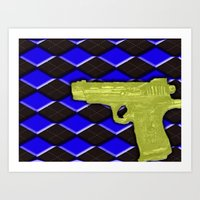 Peace Be With You #1 Art Print