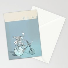 bicyclist... Stationery Cards