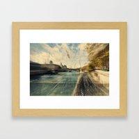 Paris In Style Framed Art Print