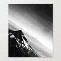 Oregon Mountains Canvas Print