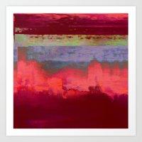 14-42-41 (City Glitch) Art Print