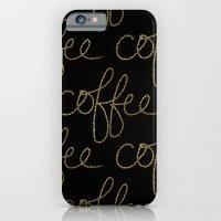 Coffee Dots iPhone 6 Slim Case