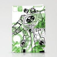Autobot DJ Stationery Cards