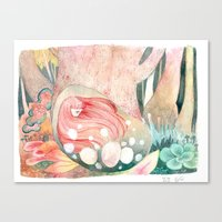 Kinoko Canvas Print