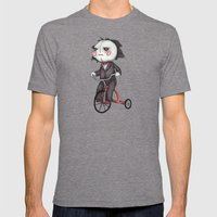Billy The Puppet Mens Fitted Tee Tri-Grey SMALL