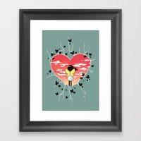 Butterflies Framed Art Print
