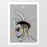 Wish A Rocking Easter! Art Print