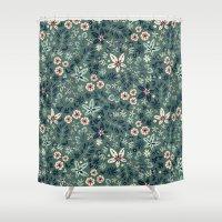 Earth Garden Shower Curtain