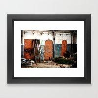 Portals Framed Art Print