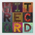 HitRECord Forest Typography Canvas Print