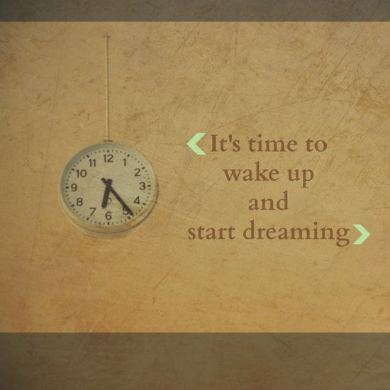It's time to wake up... Art Print