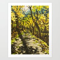 C&O Canal Towpath, Novem… Art Print