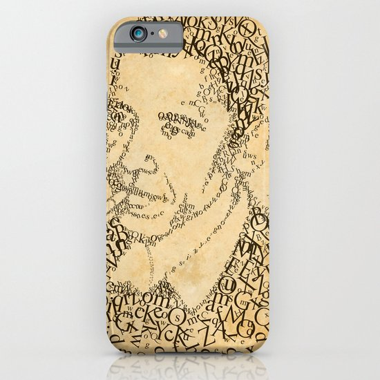 obama in the font of times 02 iPhone & iPod Case