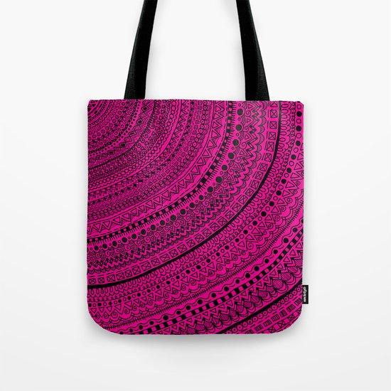 Hot Pink Pulse o4. Tote Bag