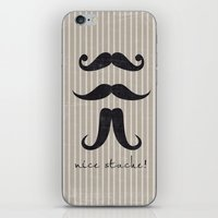Nice Stache! iPhone & iPod Skin