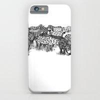 iPhone & iPod Case featuring Zebra Print by William McDonald