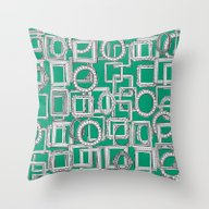 Picture Frames Aplenty G… Throw Pillow