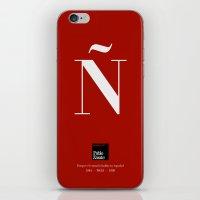 Ñ (Piece 03/08) iPhone & iPod Skin
