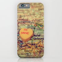 iPhone & iPod Case featuring Be Mine New Orleans by CAPow!