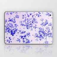 Blue Earthenware Vintage… Laptop & iPad Skin