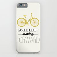 iPhone & iPod Case featuring KEEP MOVING FORWARD - BICYCLE by Allyson Johnson