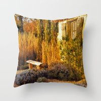 Le Jardin de Vincent Throw Pillow