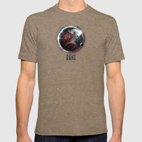 Dune Geidi Prime Planet Poster Mens Fitted Tee Tri-Coffee SMALL