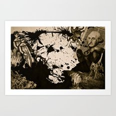 Penser : Combat mental. Art Print