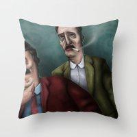 Mario PD Throw Pillow