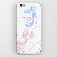 Blue Beard, 2014. iPhone & iPod Skin