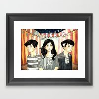 Gypsy Children Framed Art Print