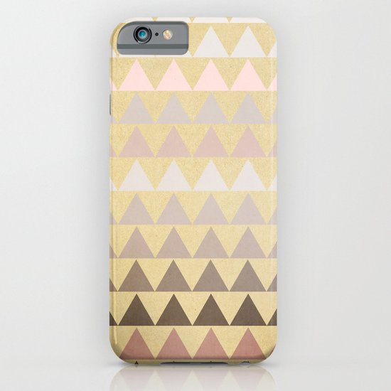 Muted Triangles iPhone & iPod Case