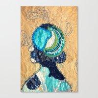 Mind Map I Canvas Print