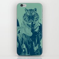 Paint Tiger iPhone & iPod Skin