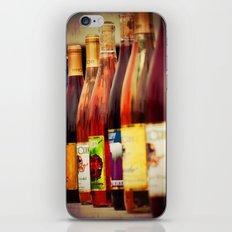 wine bottles iPhone & iPod Skin