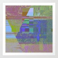 New Sacred 05 (2014) Art Print