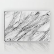 Laptop & iPad Skin featuring Carrara Marble by Santo Sagese