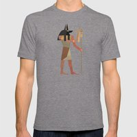 Anubis Mens Fitted Tee Tri-Grey SMALL