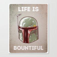 Life is Bountiful Canvas Print