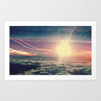 Be Light Art Print