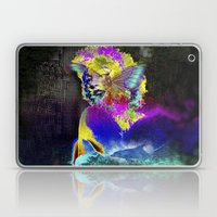 Marilin Butterfly Dolphi… Laptop & iPad Skin