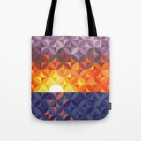 Kaleidoscope Sunset Tote Bag