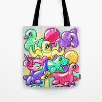 Inflatable Playground Tote Bag