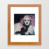 Medusa Marlene Framed Art Print